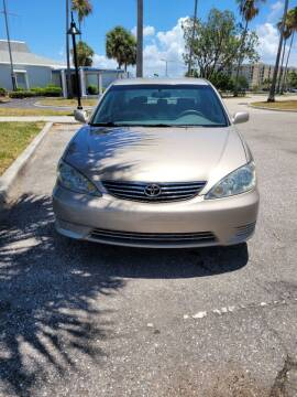 2005 Toyota Camry for sale at ATA   AUTO SALES INC in Sarasota FL