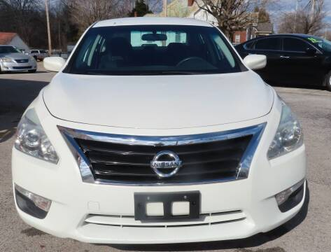 2014 Nissan Altima for sale at RIVERSIDE CUSTOM AUTOMOTIVE in Mc Minnville TN