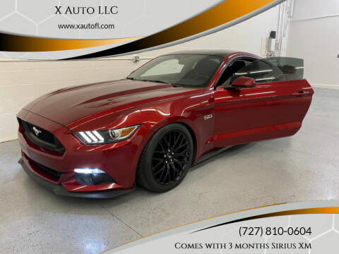 2015 Ford Mustang for sale at X Auto LLC in Pinellas Park FL