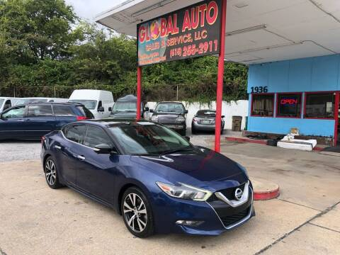 2017 Nissan Maxima for sale at Global Auto Sales and Service in Nashville TN