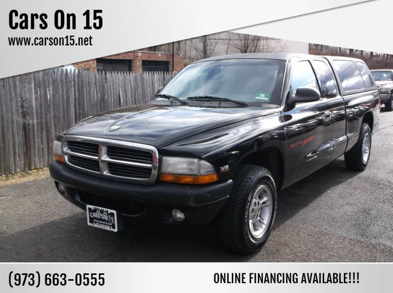 1999 Dodge Dakota for sale at Cars On 15 in Lake Hopatcong NJ