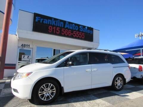 2012 Honda Odyssey for sale at Franklin Auto Sales in El Paso TX