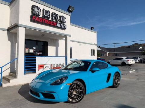 2017 Porsche 718 Cayman for sale at Fastrack Auto Inc in Rosemead CA