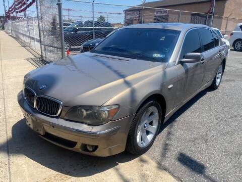 2006 BMW 7 Series for sale at The PA Kar Store Inc in Philadelphia PA