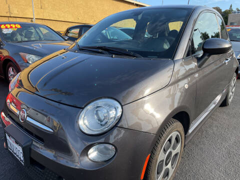 2016 FIAT 500e for sale at CARZ in San Diego CA