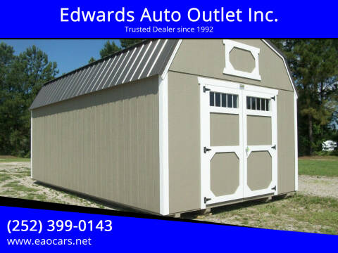 2021 xx Old Hickory Buildings 12x20 Lofted Barn for sale at Edwards Auto Outlet Inc. in Wilson NC
