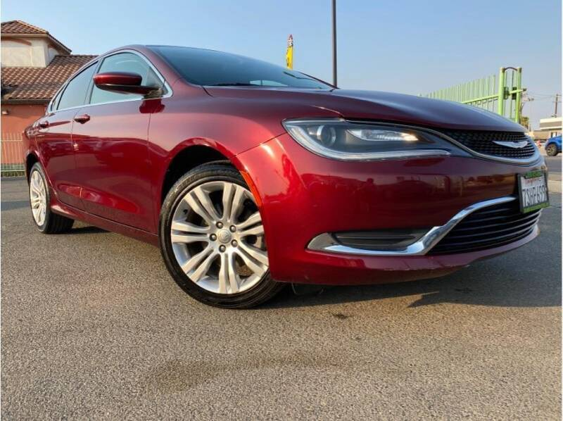2016 Chrysler 200 for sale at MADERA CAR CONNECTION in Madera CA