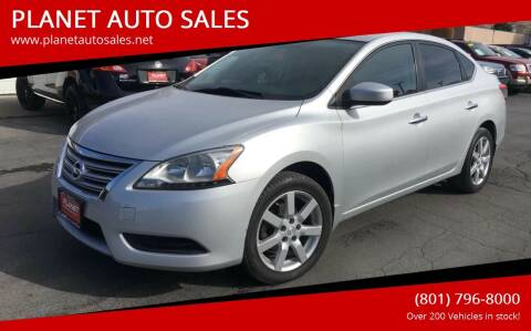 2014 Nissan Sentra for sale at PLANET AUTO SALES in Lindon UT