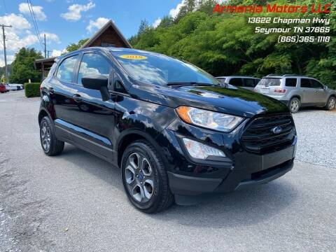 2018 Ford EcoSport for sale at Armenia Motors in Seymour TN