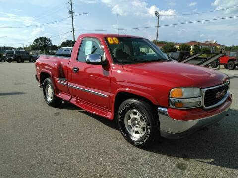 2000 GMC Sierra 1500 for sale at Kelly & Kelly Supermarket of Cars in Fayetteville NC