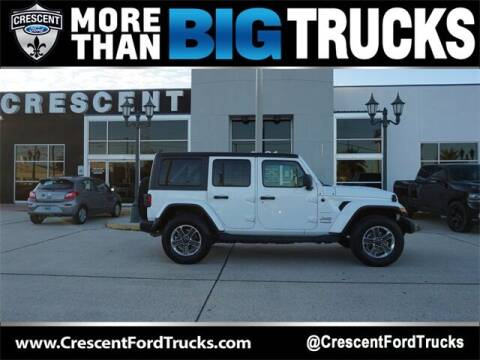 2020 Jeep Wrangler Unlimited for sale at Crescent Ford in Harahan LA