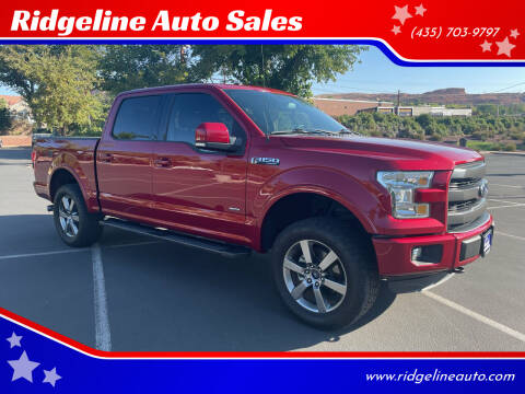 2016 Ford F-150 for sale at Ridgeline Auto Sales in Saint George UT