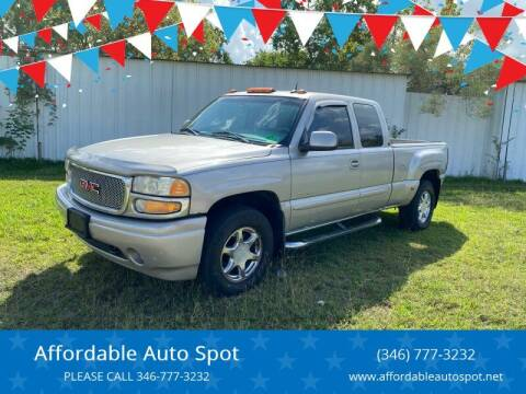 2004 GMC Sierra 1500 for sale at Affordable Auto Spot in Houston TX