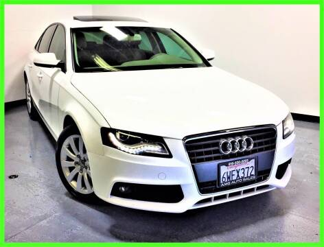 2012 Audi A4 for sale at AMG Auto Sales in Rancho Cordova CA