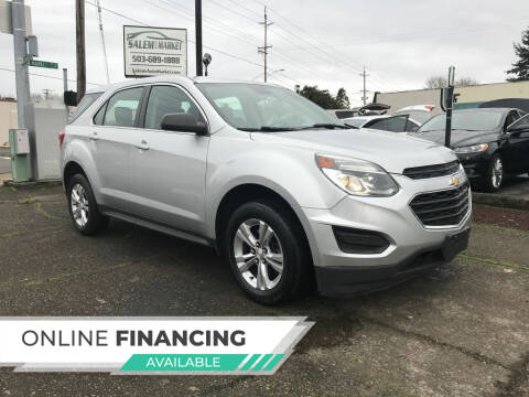 2016 Chevrolet Equinox for sale at Salem Auto Market in Salem OR