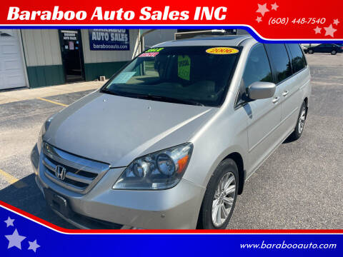 2006 Honda Odyssey for sale at Baraboo Auto Sales INC in Baraboo WI