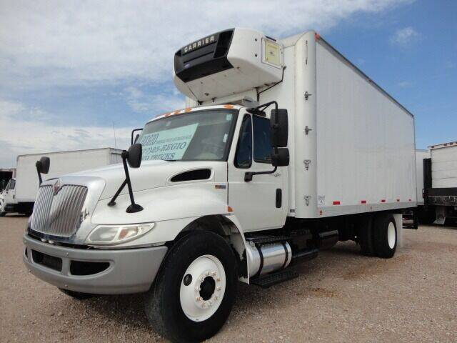 2012 International DuraStar 4300 Insulated Reefer for sale at Regio Truck Sales in Houston TX