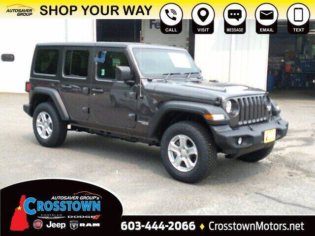 2021 Jeep Wrangler Unlimited for sale in Littleton, NH