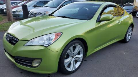 2010 Hyundai Genesis Coupe for sale at GA Auto IMPORTS  LLC in Buford GA
