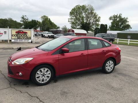 2012 Ford Focus for sale at Cordova Motors in Lawrence KS