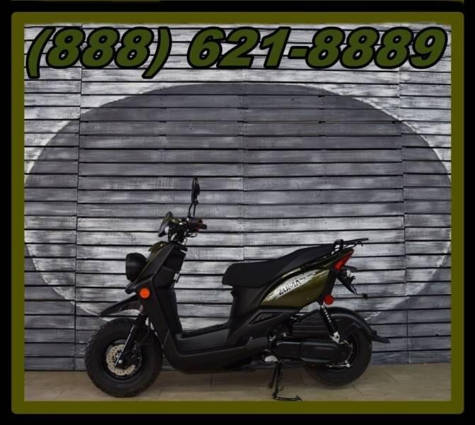 2015 Yamaha Zuma 50F for sale at AZautorv.com in Mesa AZ