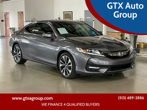2017 Honda Accord for sale at GTX Auto Group in West Chester OH