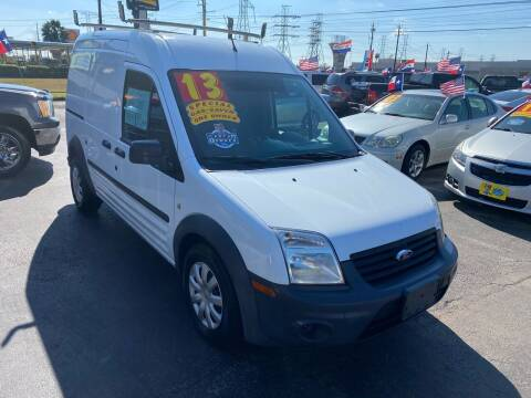 2013 Ford Transit Connect for sale at Texas 1 Auto Finance in Kemah TX