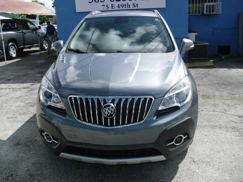 2015 Buick Encore for sale at SUPERAUTO AUTO SALES INC in Hialeah FL