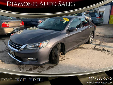 2014 Honda Accord for sale at Diamond Auto Sales in Milwaukee WI
