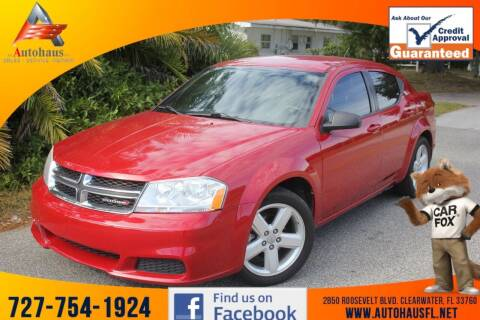 2013 Dodge Avenger for sale at Das Autohaus Quality Used Cars in Clearwater FL