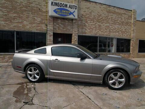 2008 Ford Mustang for sale at Kingdom Auto Centers in Litchfield IL