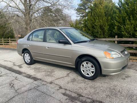 2003 Honda Civic for sale at Front Porch Motors Inc. in Conyers GA