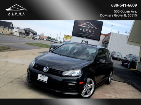 2012 Volkswagen Golf R for sale at Alpha Luxury Motors in Downers Grove IL