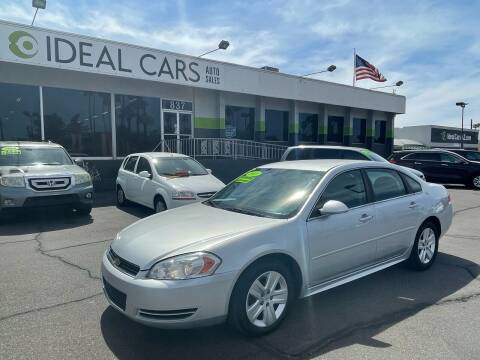 2011 Chevrolet Impala for sale at Ideal Cars Broadway in Mesa AZ