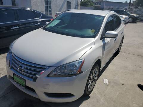 2015 Nissan Sentra for sale at Express Auto Sales in Los Angeles CA