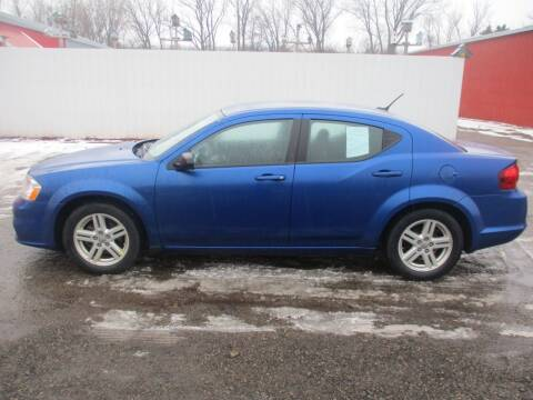 2012 Dodge Avenger for sale at Chaddock Auto Sales in Rochester MN