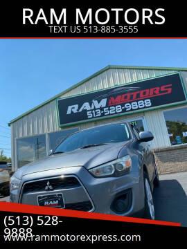 2014 Mitsubishi Outlander Sport for sale at RAM MOTORS in Cincinnati OH