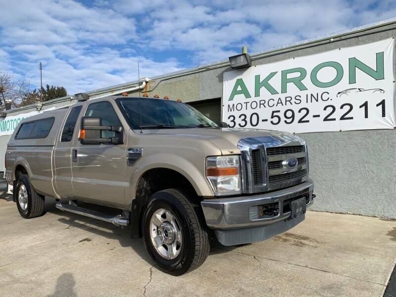 2009 Ford F-250 Super Duty for sale at Akron Motorcars Inc. in Akron OH