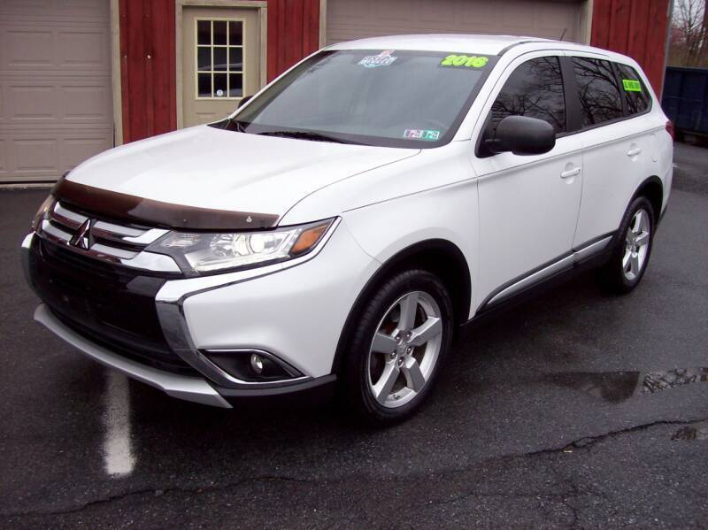 2016 Mitsubishi Outlander for sale at Clift Auto Sales in Annville PA