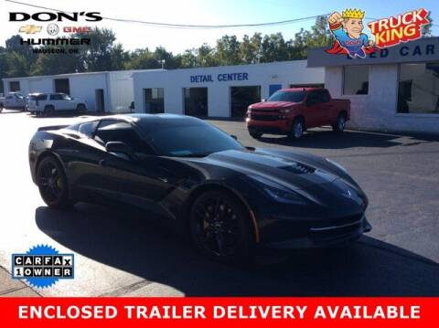 2014 Chevrolet Corvette for sale at DON'S CHEVY, BUICK-GMC & CADILLAC in Wauseon OH