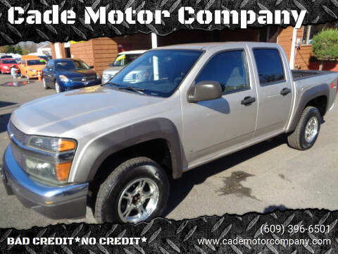 2007 Chevrolet Colorado for sale at Cade Motor Company in Lawrenceville NJ