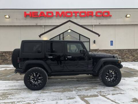 2015 Jeep Wrangler Unlimited for sale at Head Motor Company - Head Indian Motorcycle in Columbia MO