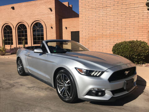 2017 Ford Mustang for sale at Freedom  Automotive in Sierra Vista AZ