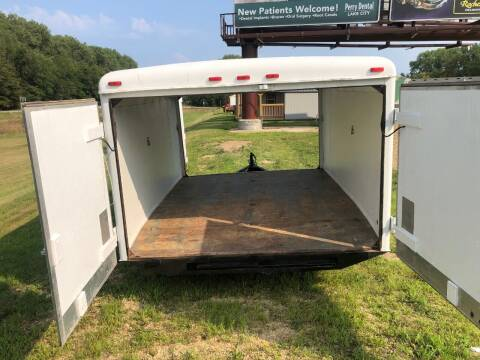 1988 Wells Cargo enclosed snowmobile trailer for sale at Triple R Sales in Lake City MN