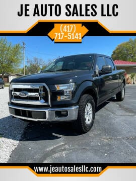 2015 Ford F-150 for sale at JE AUTO SALES LLC in Webb City MO