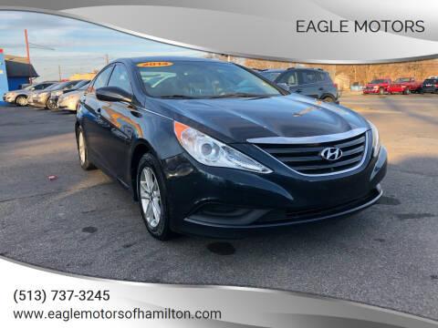 2014 Hyundai Sonata for sale at Eagle Motors in Hamilton OH