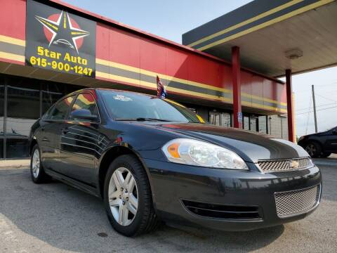 2012 Chevrolet Impala for sale at Star Auto Inc. in Murfreesboro TN