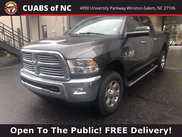 2016 RAM Ram Pickup 2500 for sale at Summit Credit Union Auto Buying Service in Winston Salem NC