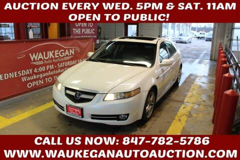 2008 Acura TL for sale at Waukegan Auto Auction in Waukegan IL