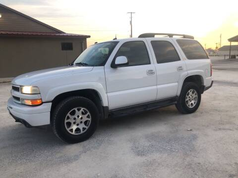 2004 Chevrolet Tahoe for sale at Gtownautos.com in Gainesville TX